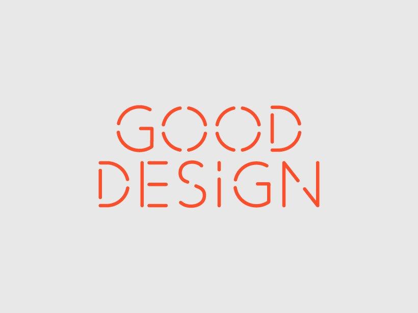 Good designs for Good Design - Logocurio.us