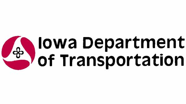 The replaced Iowa DOT logo