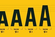 Tolyer - Font of the Week #2