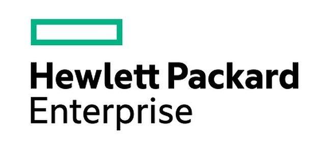 The Hewlett Packard Enterprise Logo - an underwhelming rectangle