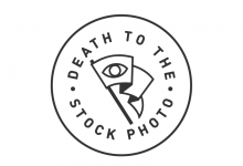 Waving the Flag for Death to the Stock Photo