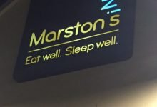 Marston's Inns Lights Up