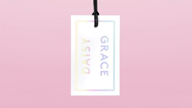 Daisy Grace Holographic Branding