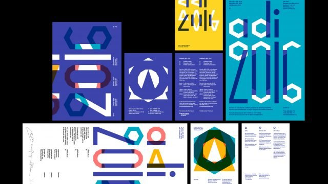 ADI Awards - Geometry and Typographic Car Crashes