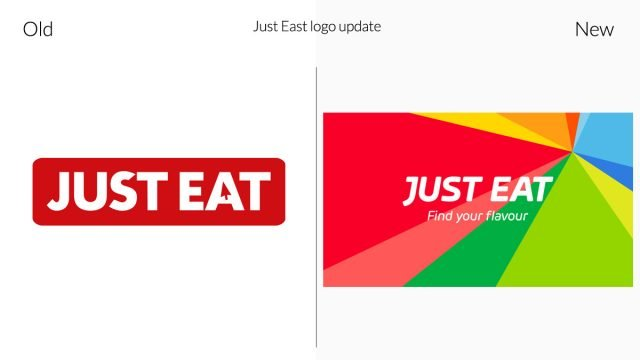 Just Eat Rebrand