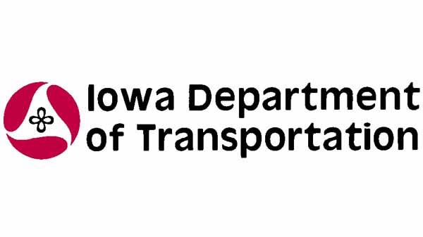 The replaced Iowa DOT logo