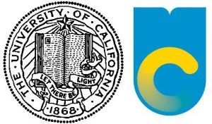 The proposed UC logo change.