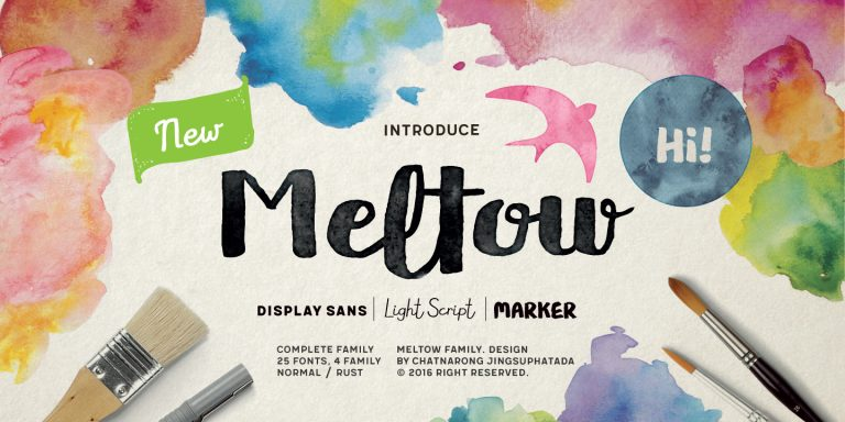 Meltow - Font of the Week