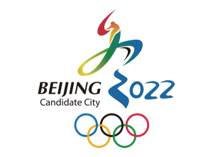 """The """"Candidate City"""" logo Beijing used to promote their application for the games."""